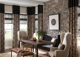 curtains for dining room ideas drapes for dining room home design ideas