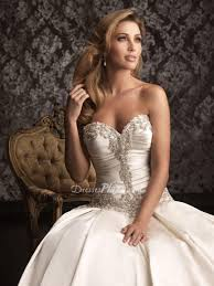 wedding corset corset wedding dresses with bling satin gown beaded