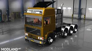 volvo truck bus volvo fh10 8x4 mod for american truck simulator ats