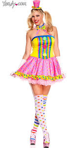 Party Costumes Halloween Size Circus Cutie Clown Costume Costumes Halloween Parties