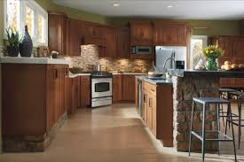 rustic kitchen cabinet hardware great stone wall materials yellow