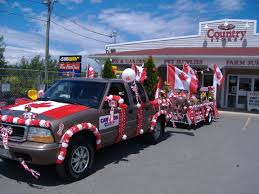 our 2008 canada day float entry parade ideas pinterest