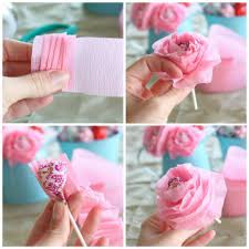 how to make tissue paper flowers easy 1 funnycrafts