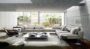 stylish living rooms living room design concrete ceiling 40 stylish living rooms