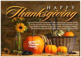 happy thanksgiving family and friends latest news from fpci family planning council of iowa