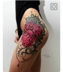 25 badass thigh tattoo ideas for women flower thigh tattoos