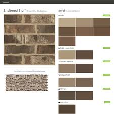 sheltered bluff union city collection residential brick boral