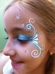 face paint frozen elsa snow u2026 pinteres u2026