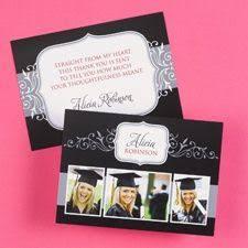 graduation thank you cards refined graduate custom thank you cards graduation gifts gift
