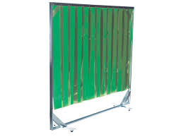 Retractable Welding Curtains Buy Opaque Green Welding Pvc Screen Free Delivery