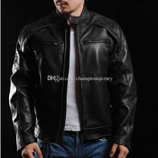 Cowhide Leather Vest Man Motorcycle Jacket Element Cowhide Leather Harley Angel Men U0027s