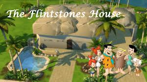 the sims 4 szybka budowa the flintstones house pl youtube