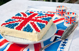 Flag Cakes Lunch Box Idea 21 Jelly Bean Jubilee Union Jack Cake Lunchbox