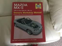 haynes manual for mazda mx5 in poole dorset gumtree