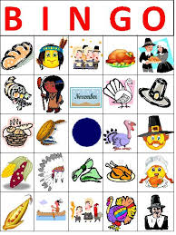 thanksgiving bingo teacherlingo