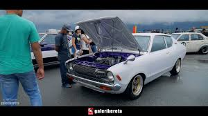 nissan sunny old model modified nissan sunny gl b210 clean engine bay youtube