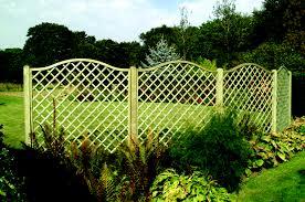 trellis fence outdoor decor design ideas image of rustic loversiq