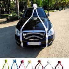 noeud de voiture mariage noeud géant voiture 11 mètres deco voiture mariage badaboum