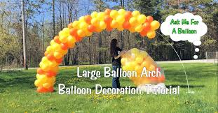 how to make a balloon arch large balloon arch tutorial setup and tear
