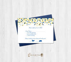 Invitation Acceptance Cards Beauty And The Beast Rsvp Card Printable Or Printed Yellow