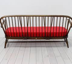 red ercol windsor 3 seater sofa u2013 arc