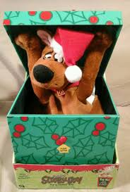 image gemmy pop up scooby doo animated christmas pop up gift box