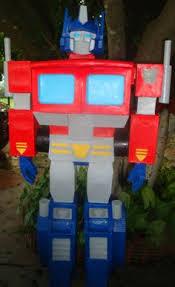 optimus prime pinata piñata de woddy story bpdisenos y bpdisenos