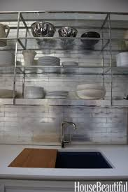 kitchen subway tile backsplash kitchen decor trends for peel and