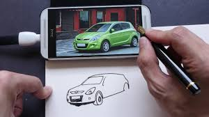 how i sketch cars from observation in simple pen u0026 ink style