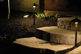 Patio Pillar Lights Lancscape Lighting For Your Hardscape Patio Or Driveway