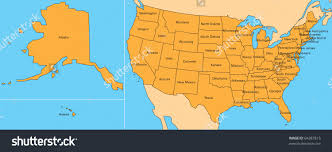 us map of alaska map usa including hawaii major tourist attractions maps
