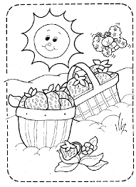 coloring pages worksheets shown vintage strawberry shortcake color page printable color
