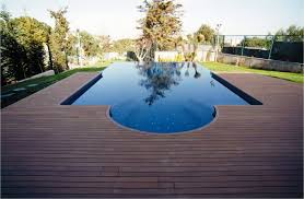 architecture natural backyard design with oval pool plus wood