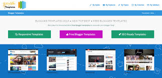 download high quality free blogger templates of 2015