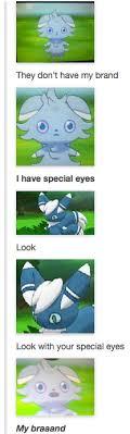 Espurr Meme - espurr has special eyes pokemon