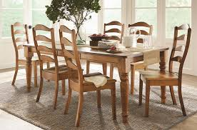 Wood Dining Chairs Colfax 5 Piece Solid Wood Dining Set Morris Home Dining 5