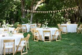 Backyard Bbq Design Ideas by Triyae Com U003d Casual Backyard Wedding Decoration Ideas Various
