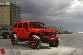 red jeep grid off road dalto shop miami jeep wrangler jk gd4 grid off road