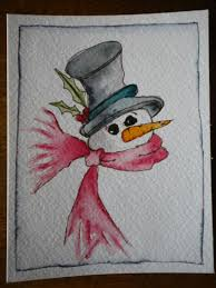 christmas cards ideas watercolor christmas cards weenaz