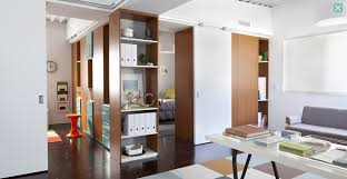 Glass Partition Between Living Room And Kitchen Protohome Living Room Interior Design Ideas