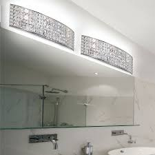 crystal bathroom vanity light fixtures light fixtures