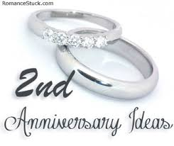 second year wedding anniversary 6th anniversary ideas romancefromtheheart
