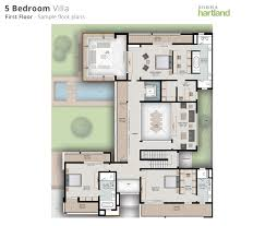 six bedroom floor plans sobha hartland estates floor plans the l shaped sobha hartland