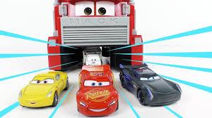disney pixer cars 3 diecast lightning mcqueen mack hauler mini