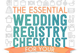 registries for weddings your wedding registry