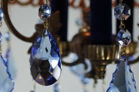 Chandelier Strands Sapphire Blue Chandelier U2022 Strass Swarovski Crystal Chandelier