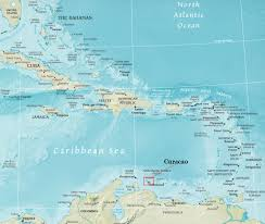Map Curacao Curacao U2013 Pride Travel