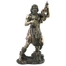 greek god hephaestus statue wu 1122 by medieval collectibles
