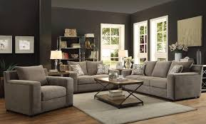Grey Sofa And Loveseat Sets Fabric Microfiber Sofa U0026 Loveseat