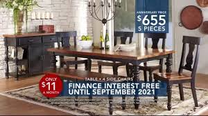 rooms to go dining sets rooms to go tv commercial 2016 labor day interest free dining